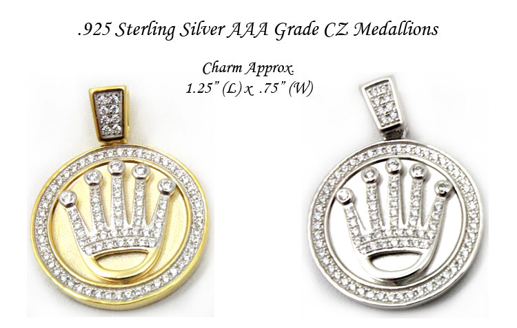 crown venetian crvecrme medallion